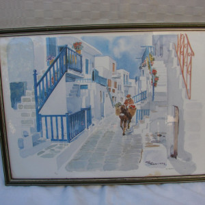 Fotocopie dupa o lucrare frumoasa a unui artist grec