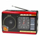 Radioul multi-band DSP portabil U40 cu funcția Ceas cu cuarț, Digital, 0-40 W
