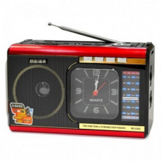 Radioul multi-band DSP portabil U40 cu funcția Ceas cu cuarț