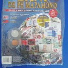 RWX 81 - BANI DE PE MAPAMOND - NUMARUL 63 - IN AMBALAJUL ORIGINAL!!!