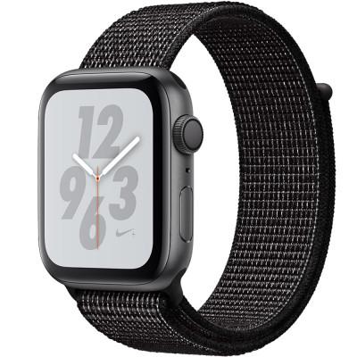 Smartwatch Watch 4 Nike Plus GPS 40MM Aluminiu Negru Si Curea Sport Loop Negru foto