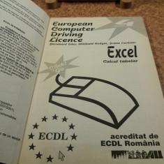 """B. Eder - ECDL Excel calcul tabelar Modulul 4 """"A6292"""""""