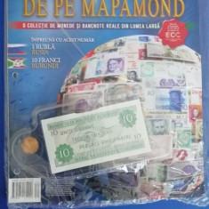 RWX 81 - BANI DE PE MAPAMOND - NUMARUL 70 - IN AMBALAJUL ORIGINAL!!!