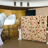 Aranjamente florale,  Panou floral nunta-botez Giurgiu Bellagio Events