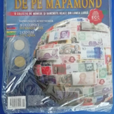 RWX 81 - BANI DE PE MAPAMOND - NUMARUL 55 - IN AMBALAJUL ORIGINAL!!!