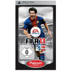 FIFA 13 PLATINUM -  PSP  [SIGILAT] - ITALIANA -  ID3 60223, Sporturi, 3+, Single player