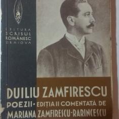 POEZII de DUILIU ZAMFIRESCU