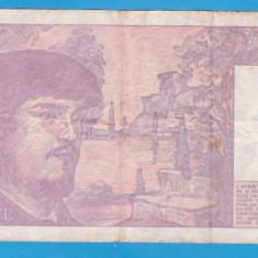 (1) BANCNOTA FRANTA - 20 FRANCS 1993, EDITIE PRE-EURO