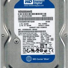 Hard Disk 500GB, Western Digital Caviar Blue 16Mb cache, 7200rot/min, SATA 3Gb/s, 500-999 GB, 7200, SATA2