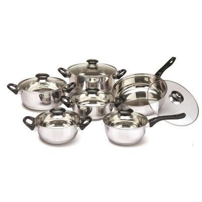 Set oale inox Floria, 12 piese, manere bachelita foto