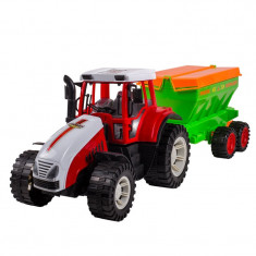 Tractor cu remorca Farm Exploiter, 54 x 15 cm