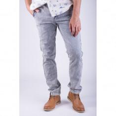 Pantaloni Lungi Bumbac Alcott Torstein Slim Fit Albastru Deschis