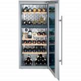 Vitrina frigorifica incorporabila Liebherr Premium WTEes 2053, 187 l, 6 rafturi, Inox