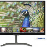 Monitor IPS LED Philips 23.6inch 246E7QDAB/00, Full HD (1902 x 1080), VGA, DVI, HDMI, 5 ms, Boxe (Negru)