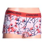 Boxeri Dama Pieces Logo Lady Floral Peach Whip Comb A