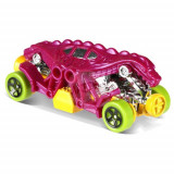 Masinuta Double Demon Hot Wheels, Colectia Dino Riders, Mattel