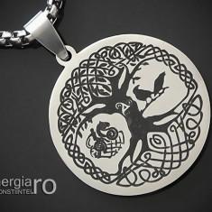 Pandant, Amuleta, Pandantiv Copacul Vietii INOX - cod PND140