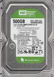Hard Disk 500GB, Western Digital, 32Mb cache, 7200rot/min,  SATA 3Gb/s