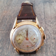 Ceas Cronograf Vintage -  Chronographe Suisse, mecanism Landeron