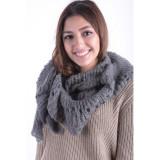 Cumpara ieftin Fular Dama Pieces Mathilde Scarf Granit, Gri