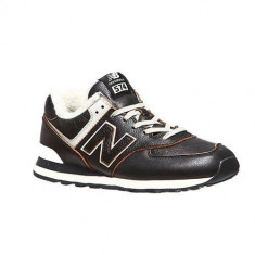 Pantofi Barbati New Balance ML574WNE, 40.5, 41.5, 42, 42.5, 43, 44, 44.5, 45, 45.5 - 47.5, Negru
