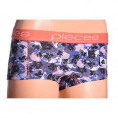 Boxeri Dama Pieces Logo Lady Mix Exp Whitecap Gray Comb B
