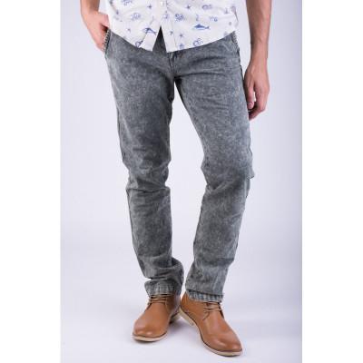 Pantaloni Lungi Bumbac Alcott Torstein Slim Fit Kaki foto