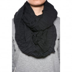Esarfa Dama Pieces Mystic Tube Scarf Black