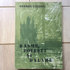 Basme povesti si balade george catana editura facla timisoara 1984 carte copii, Alta editura