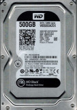 Hard Disk 500GB, Western Digital Black 64Mb cache, 7200rot/min, SATA 3Gb/s, 200-499 GB, 7200, SATA2, Western Digital