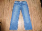 Blugi Tommy Hilfiger 100% bumbac albastru predominant marimea 33 sau M, Tommy Hilfiger