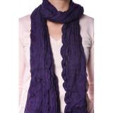 Esarfa Dama Pieces Jaqeline Long Scarf Winter Purple, Mov