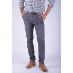 Pantaloni Lungi Bumbac Alcott Gjurd Slim Fit Gri