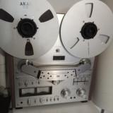 Magnetofon Akai GX-635D + naburi+ 2benzi si o rola goala