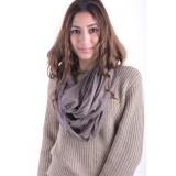 Cumpara ieftin Esarfa Dama Pieces Dysis Tube Scarf Hemp Sand, Maro