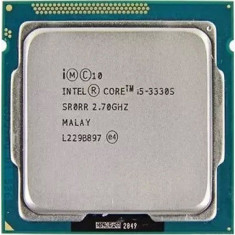 Procesor Quad Core i5 3330S 2.70Ghz,turbo3.2ghz Ivy Bridge 6Mb cache,socket 1155, Intel, Intel Core i5, 4