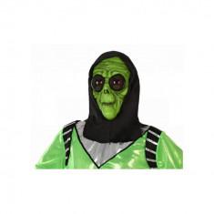 Masca Halloween Extraterestru Verde - Carnaval24