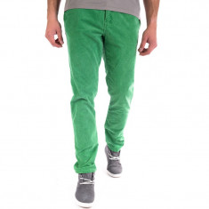 Pantaloni Velur Blend Ulf Orvar Verde