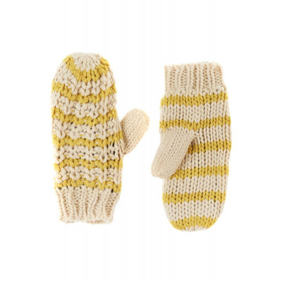 Manusi Dama Pieces Bellis Mittens Goldcolor foto