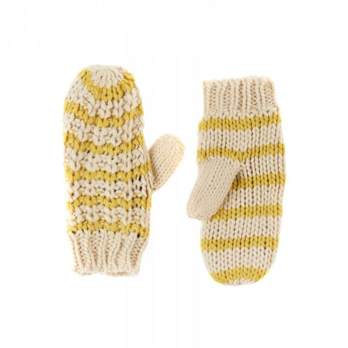 Manusi Dama Pieces Bellis Mittens Goldcolor