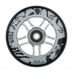 Roata Trotineta 841 Enzo 2 100mm + Abec 9 silver