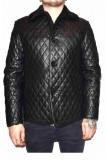 Cojoc barbati, din blana naturala, marca Kurban, 280-01-95, negru, marime: XL