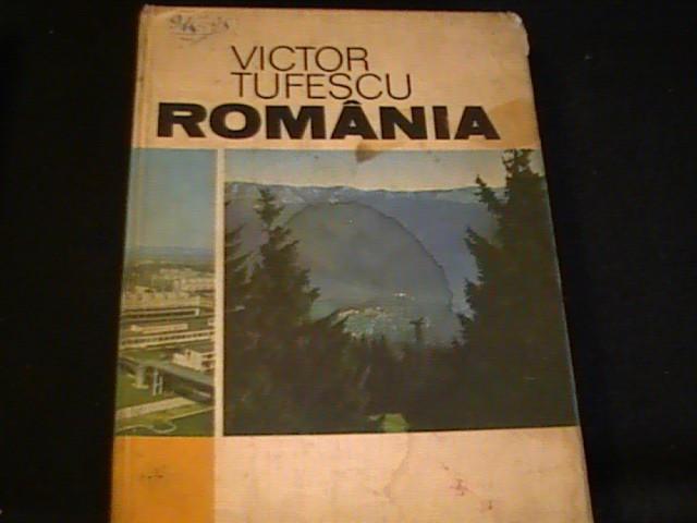 ROMANIA-VICTOR TUFESCU-NATURA-OM-ECONOMIE-530 PG A4-