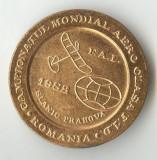 CAMPIONATUL MONDIAL AERO - CLASA F1D - SLANIC PRAHOVA 1982 - Medalie AVIATIE