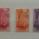 Timbre Vechi - Cirenaica, Colonie Italiana, Italia 3 valori Serie Completa1932, Stampilat
