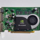 Placa video profesionala nVidia Quadro FX 1700 512MB GDDR2 (nVidia 8600GT), PCI Express, 512 MB, PNY