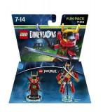 Set Lego Dimensions Fun Pack Ninjago Nya