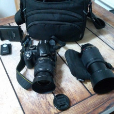 Aparat Foto DSLR Nikon D3100 kit complet