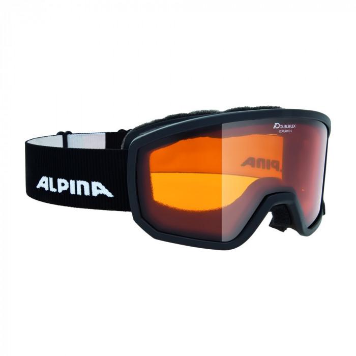Ochelari Alpina Scarabeo S black DH