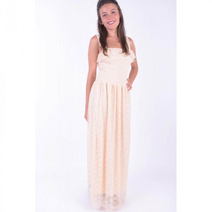 Rochie Eleganta Vero Moda Arora Maxi Mother Of Pearl